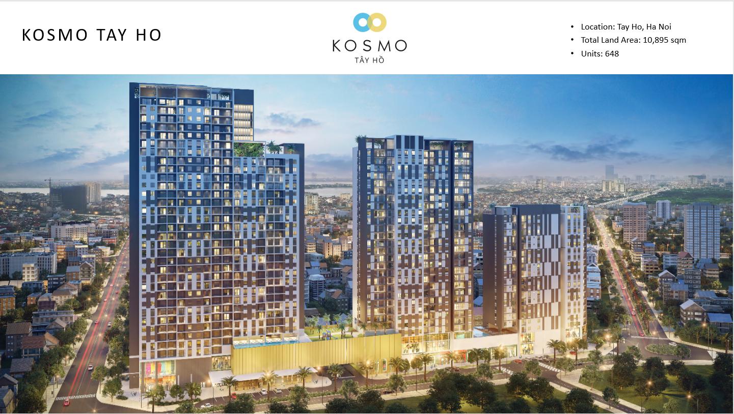 Khu căn hộ KOSMO Tây Hồ